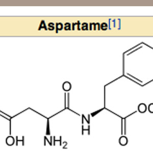 Aspartame from Wiki