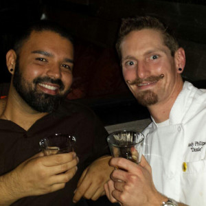 Manager Billy & Chef Dizzle formerly at Searsucker, always on the move for a better opportunity!