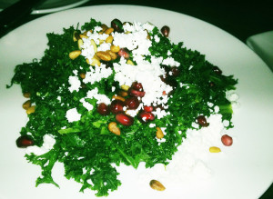 Kale Salad at Croce's Park West