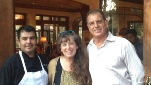 Chef Alex, Chef Marian and Owner Garo of Harry's Bar and Grill, La Jolla